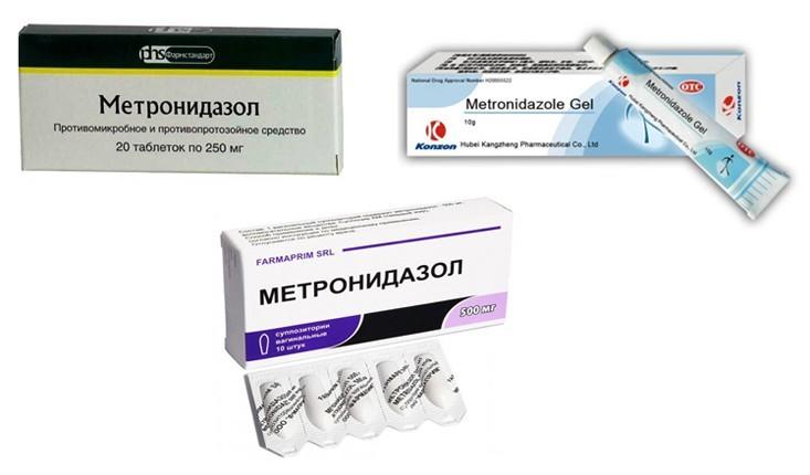 Инструкция по применению таблеток метронидазол в гинекологии