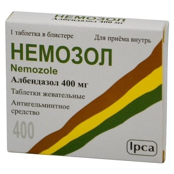 Цена на Немозол в России