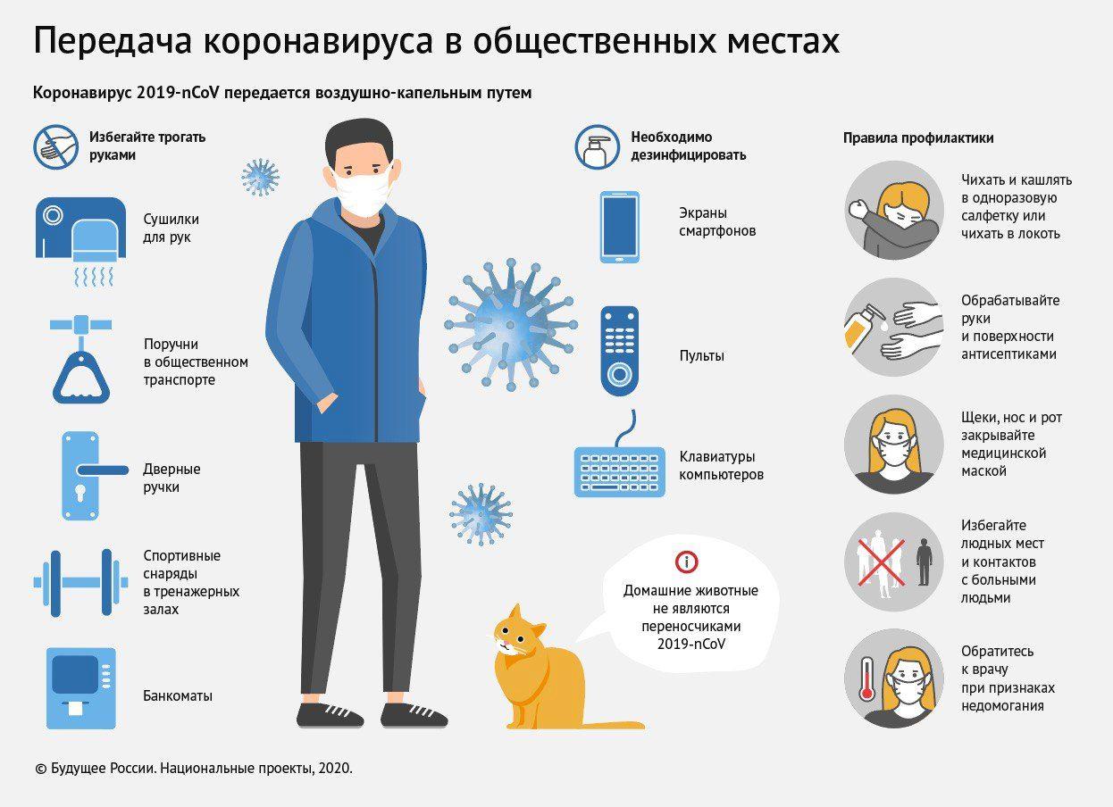 Коронавирус в России. Новости, советы и рекомендации